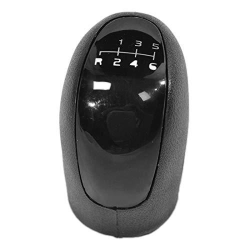 Pomo de palanca de cambio de 6 velocidades, color negro, para Mercedes Vito Viano Sprinter II/VW-Crafter