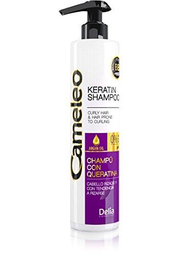 salt-free queratina Champú para el pelo rizado–0% sal/colorantes y paraben–PH 5.5