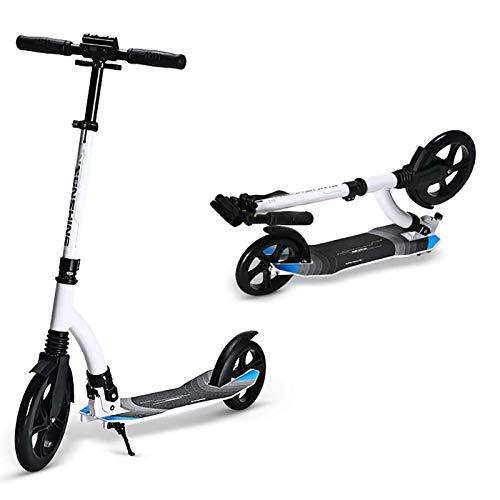 WYQ Scooter Plegable, Scooters de Acrobacias no eléctricos, Aleación de Aluminio Commuter...