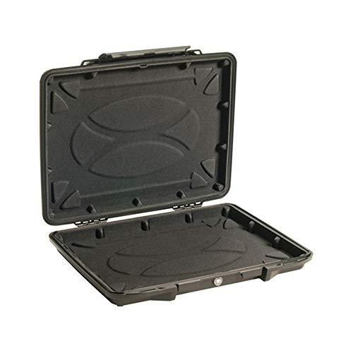 HJKH Esponja Maleta de Negocios Caja de la guarnición de Seguridad Protección de la Caja 14 Pulgadas Ordenador portátil con pre-Corte Esponja/Alta Densidad Buffer Storm Box con Esponja Exterior