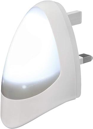 Automatic LED Night Light Dusk 2 Dawn LED Sensitive, White, Plug in