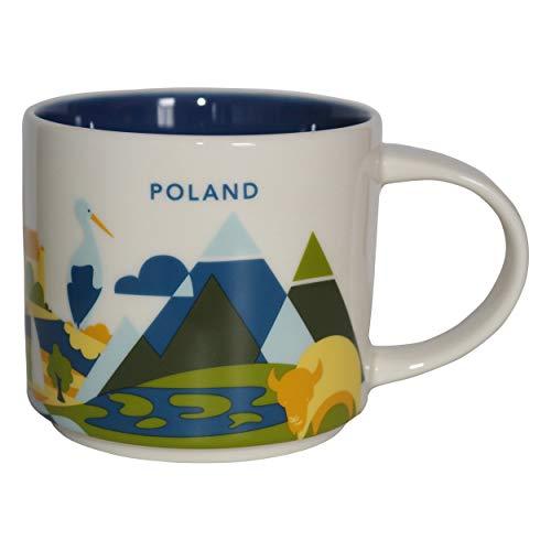 Starbucks City Mug You Are Here Collection Polen Kaffeetasse Coffee Cup