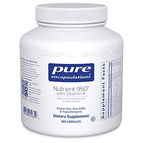 Pure Encapsulations - Nutrient 950 with Vitamin K - Vitamin Mineral...