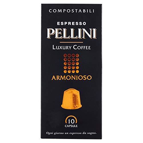 Pellini Caffè Luxury Coffee Armonioso - Nespresso kompatibel, 10 Kapseln (1 x 50 g)
