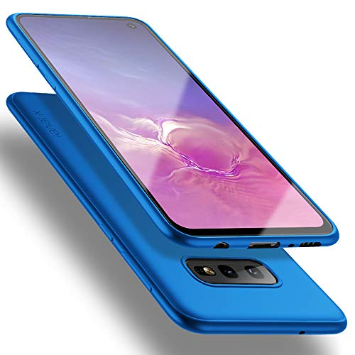 X-level Cover Galaxy S10e, [Guardian Series] Ultra Sottile Morbido TPU Slim Protezione Posteriore Antiscivolo e AntiGraffio Custodia per Samsung Galaxy S10e, Blu