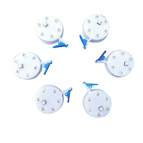 Bluelover 6 hoofdbrand lamp schakelaar draak lichten lichtdiode LED-licht voor grote kits met schakelaar