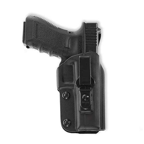 Galco Triton Kydex IWB Holster for Glock 17, 22, 31 (Black, Right-Hand)