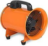 VEVOR Ventilatore Industriale 200 mm, Estrattore d'aria Industriale, con Piedini in Gomma...