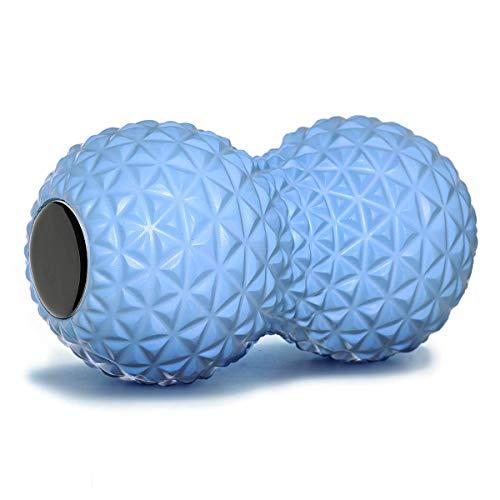 LG&S Peanut Massage Ball Roller, Dual-Lacrosse-Kugel Deep Tissue Therapie Massage für Triggerpunkt Myofascial Release & Muskelregeneration