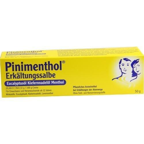 Pinimenthol Erkältungssalbe, 50 g Creme