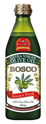 日清オイリオグループ BOSCOエキストラバージンオリーブオイル 684g