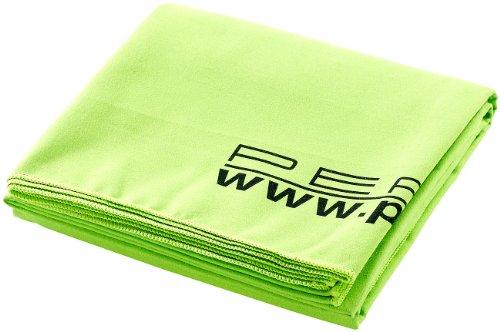 PEARL Mikrofasertuch: Extra saugfähiges Mikrofaser-Badetuch, 180 x 90 cm, grün (Handtuch Microfaser)