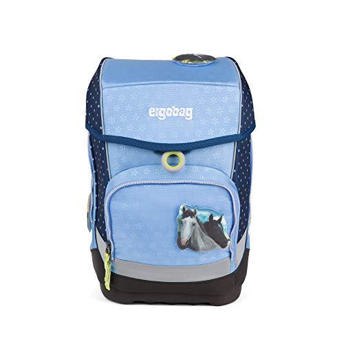 ERGOBAG HimmelreitBär Kinder-Rucksack, 40 cm, Blaue Punkte