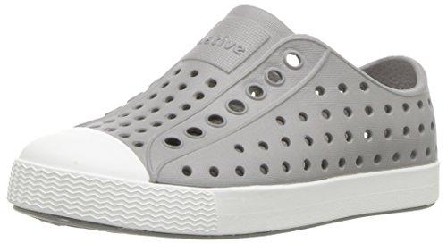 Native Shoes - Jefferson Child, Pigeon Grey/Shell White, C6 M US