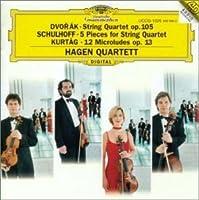 ドヴォルザーク / 弦楽四重奏曲 第14番 変イ長調 作品105 B.193