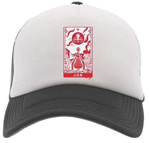 Delavi Überlegen Einsen Baseball Trucker Kappe Schwarz Black Cap