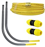 HOME-FLEX Polyethylene Gas Pipe Kit 1 in. x 100 ft. IPS 2 Couplers 2 Risers