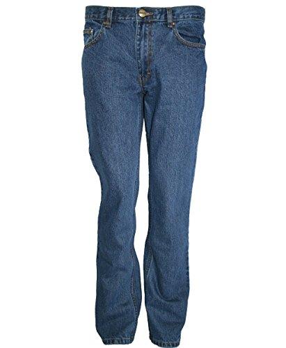 Oklahoma Jeans Herren R144 Straight Jeans, Blau (Stone Wash 005), 50W / 30L (Herstellergröße: 54/30)