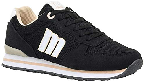 MTNG Attitude 69859, Zapatillas Mujer, Negro Soft