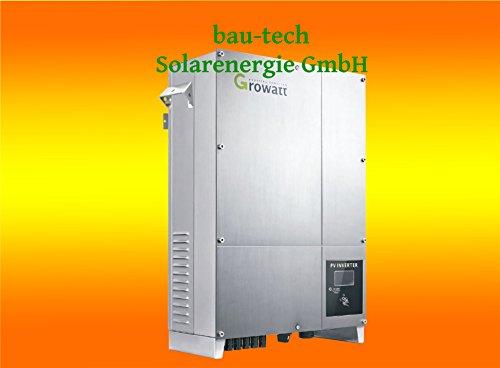 Growatt 10.000UE Wechselrichter 3 Phasig mit WiFi Modul von bau-tech Solarenergie GmbH
