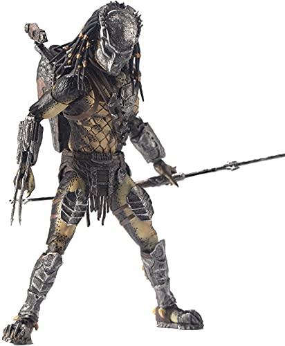 Hiya Toys Alien vs. Predator: Wolf Predator 1:18 Scale Action Figure, Multicolor
