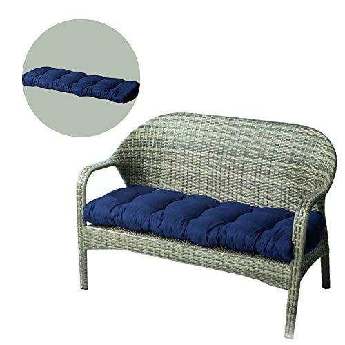 LeeBoom Coussin Long Coussin de Chaise inclinable Thicken Sun Garden Lounge Coussin Tapis Siège de Jardin Chaise Longue Tapis