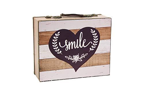MIMBRE NATURAL Maleta Smile (37 * 30 * 14)
