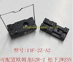 Calvas (10PCS) Low Hook Relay Socket 8-pin 14F-2Z-A2 JQX-115F RT424024 RT314024