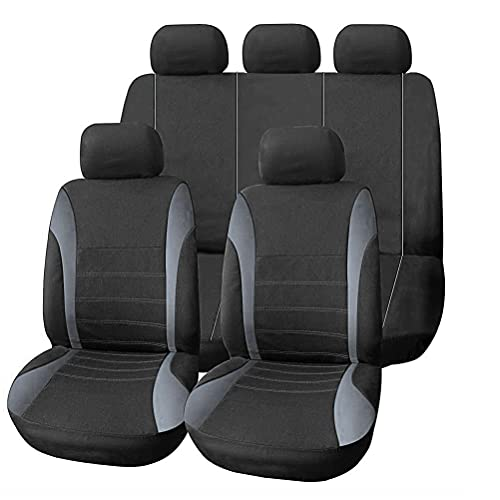 9pcs Universal Car Seat Cover, Full Set Four Seasons Universal Car Interior...