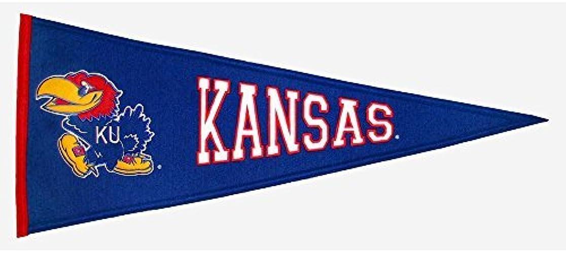 Winning Streak Sports Kansas Jayhawks Traditions Pennant - KANSAS JAYHAWKS One Taille by Winning Streak