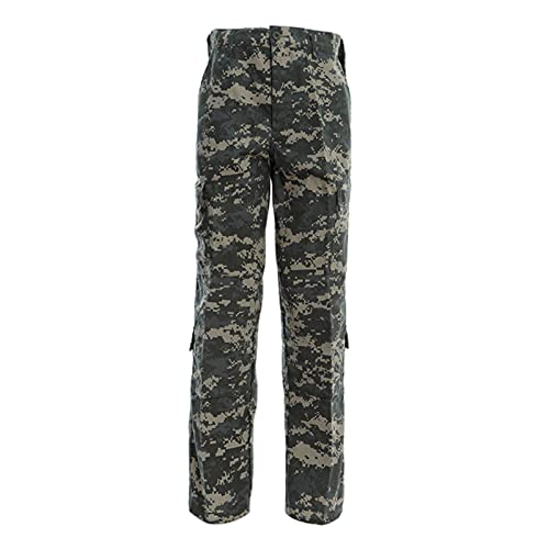 Q&M Pantalones Aire Libre de Hombre Secado Rápido Transpirable Pantalone de Montaña Senderismo con Bolsillo Multifuncional