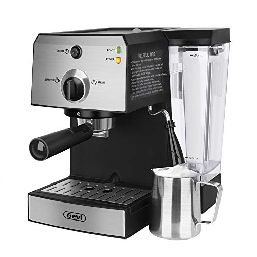 Gevi Machine577 Espresso Machine 13 x 125 x 11 Black