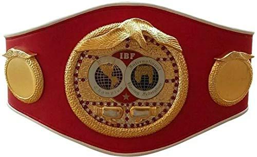Replica Full Size IBF Boxing Championship Belt International Boxing Federation Adult