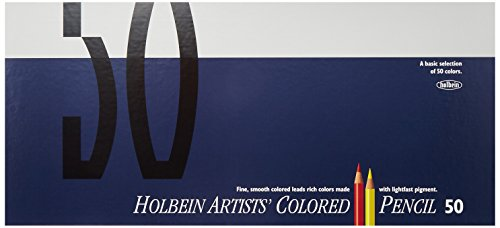 50 color paper box-set Holbein colored pencil (japan import)