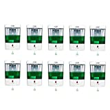 JE Make IT Simple 10-Pack 700 ml Touchless Automatic Hand Sanitizer Dispenser, Hands Free Soap Dispenser for Hotel, Office, School, Kitchen, Church, Shopping mall, Restaurant (1309, 10-PACKPACK)