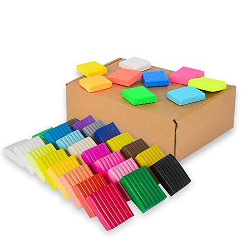 Arcilla polimérica 24 colores Horno Hornear DIY Arcilla