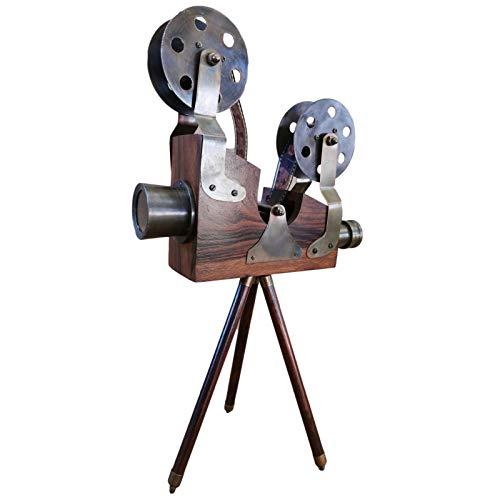 aubaho Projecteur de cinéma caméra filme Style Antique modèle décoration réplique