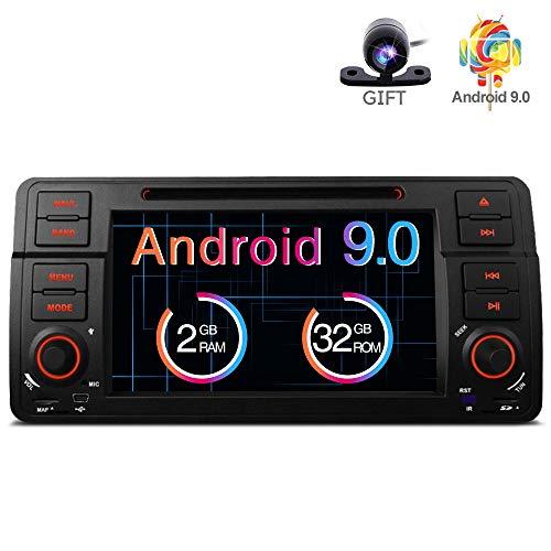 Freeauto Para BMW E46/320/325 Quad Core 7 'Android 8.1 Estéreo Pantalla...