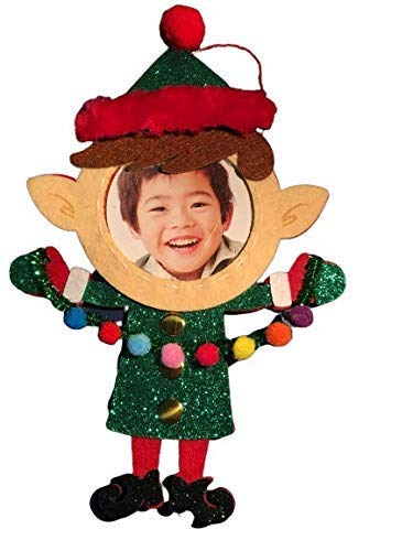Video Recordable. Personalized Elf Christmas Ornament with Picture and 1 Minute Video Recording. Have Fun On Christmas! Green Technology. No Battery Requred. Requires Use of ZIPPYAR Free App