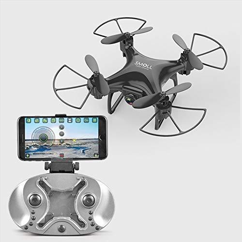 Mini Quadcopter Drone Zonder Camera Afstandsbediening Quadcopter Voor Kinderen LED-Licht Zwart Binnen Buiten Vliegend Quadcopter Model, Eenvoudige Bediening, Kan Een Cadeau Zijn Voor Uw Kind,Black