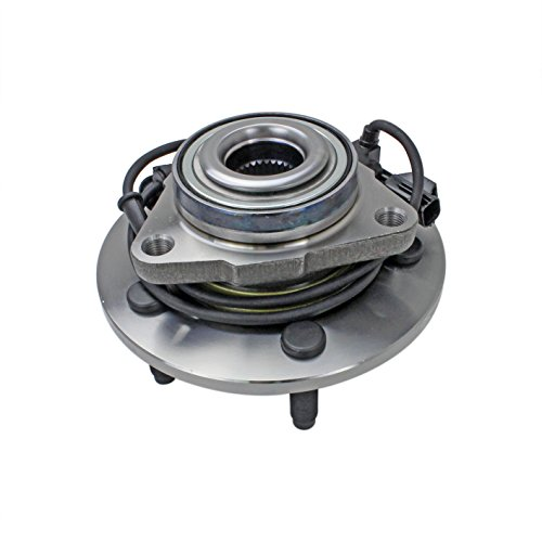 CRS NT515073 New Wheel Bearing Hub Assembly, Front Driver (Left)/ Passenger (Right), for 2002-2005 DODGE Ram 1500, 2WD/ 4WD, w/ABS
