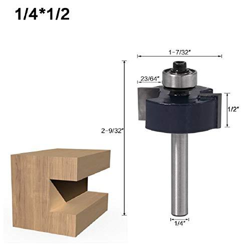 HWW-Bohrer, 1 Stück, 6,35 mm Schaft, T...