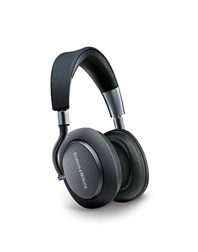 Bowers & Wilkins PX - Cuffie wireless con cancellazione del rumore, Bluetooth, Autonomia batteria 22 ore, Grigio