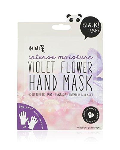 Oh K! Vochtverzorgend handschoenmasker – handmasker met viool-geur.
