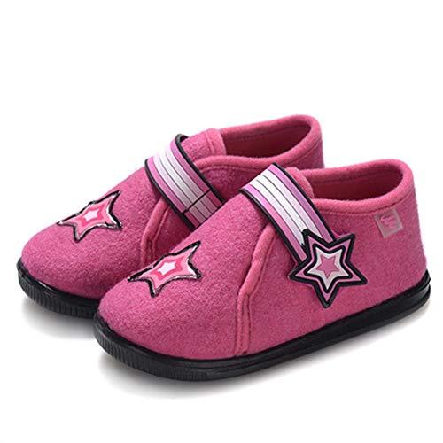 Fit en zacht comfortabel bovenwerk, katoenen schoenen met klittenband voor meisjes, comfortabele babyslofjes voor baby's-25, riem met gemakkelijke sluiting en gemakkelijke sluiting