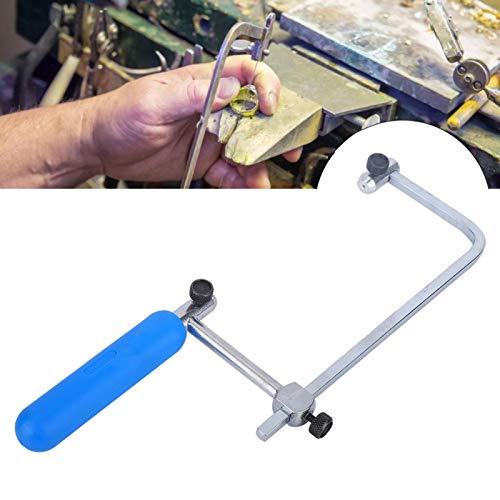 Marco ajustable en forma de U para sierra de arco de sierra de arco para manualidades y fabricación de joyas