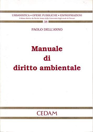 Manuale di diritto ambientale