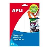 【APLI】マルチA5角丸ラベル15枚50面(AP-01862)
