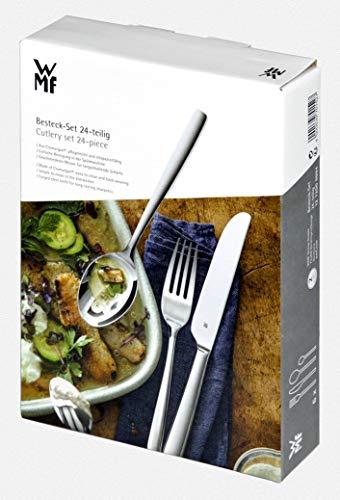 WMF Palma Menübesteck-Set 24-teilig Menü-Besteck aus der Serie ProfiSelect