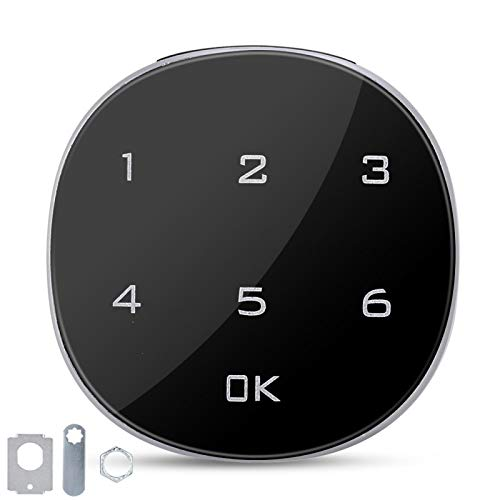 Cerradura de seguridad con contraseña, cerradura codificada con contraseña electrónica digital de pantalla táctil para el cajón de la sauna del archivo del buzón del gabinete
